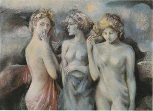 """Nadia Russo Caleca's """"Le Tre Grazie"""" (The Three Graces)"""